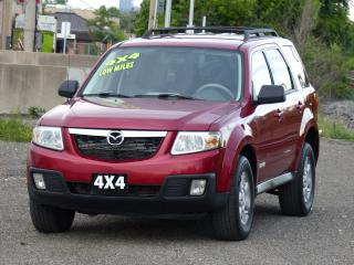 Used 2008 Mazda Tribute AWD, 4X4,NO-ACCIDENTS,FULLY LOADED,DEALER SERVICED for sale in Mississauga, ON