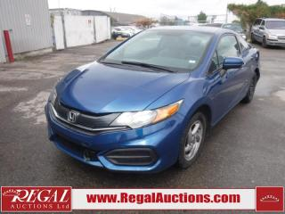 Used 2015 Honda Civic LX 2D Coupe AT 1.8L for sale in Calgary, AB
