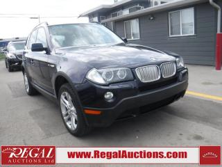 Used 2008 BMW X3 3.0SI 4D UTILITY 4WD for sale in Calgary, AB