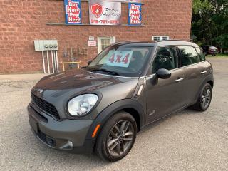 Used 2013 MINI Cooper Countryman S/ALL4/1.6 TURBO/NO ACCIDENT/CERTIFIED for sale in Cambridge, ON