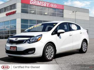 Used 2015 Kia Rio EX for sale in Grimsby, ON