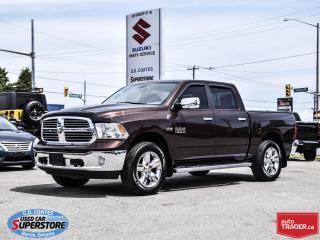 Used 2013 RAM 1500 Big Horn Crew Cab 4x4 ~Trailer Tow ~20 Inch Wheels for sale in Barrie, ON