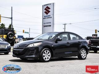 Used 2010 Mazda MAZDA3 GX ~Power Windows & Locks ~A/C for sale in Barrie, ON