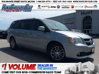 Used 2015 Dodge Grand Caravan SXT | STOW N GO | SUEDE | UCONNECT & MORE!!! for sale in Milton, ON
