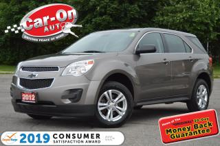 Used 2012 Chevrolet Equinox A/C PWR GRP ONSTAR BLUETOOTH ALLOYS for sale in Ottawa, ON
