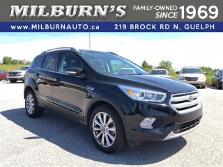 Used 2018 Ford Escape Titanium AWD for sale in Guelph, ON
