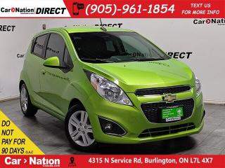 Used 2014 Chevrolet Spark 1LT| LOCAL TRADE| LOW KM'S| BACK UP CAMERA| for sale in Burlington, ON