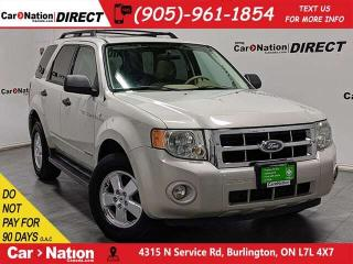 Used 2008 Ford Escape XLT| AS-TRADED| SUNROOF| ALLOYS| for sale in Burlington, ON
