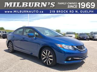 Used 2015 Honda Civic Sedan Touring for sale in Guelph, ON