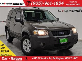 Used 2006 Ford Escape XLT| AS-TRADED| ALLOYS| OPEN SUNDAYS| for sale in Burlington, ON