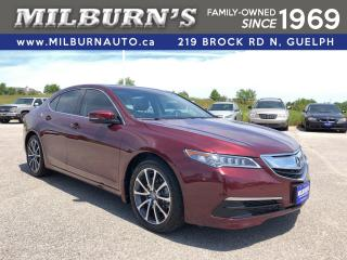Used 2016 Acura TLX V6 Tech SH-AWD for sale in Guelph, ON