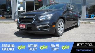 Used 2015 Chevrolet Cruze LT ** 1 Owner, Clean CarFax, Backup Cam ** for sale in Bowmanville, ON