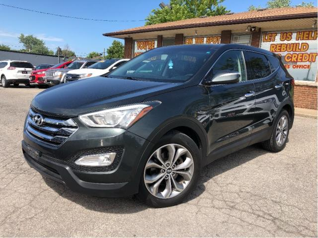 2013 Hyundai Santa Fe AWD Leather Back Up Camera Sunroof