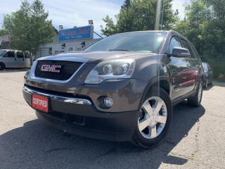 Used 2008 GMC Acadia FWD 4dr SLT2 * 7PASS, DVD PLAYER, for sale in Brampton, ON