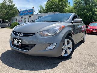 Used 2012 Hyundai Elantra 4dr Sdn Auto *ACCIDENT FREE* w/ MOONROOF & BLUETOOTH* for sale in Brampton, ON