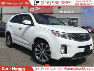 Used 2014 Kia Sorento SX | V6 | AWD | PANO ROOF | NAV | CLEAN CARFAX for sale in Georgetown, ON