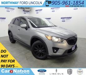 Used 2015 Mazda CX-5 GX | KEYLESS ENTRY | PUSH START | BLUETOOTH | for sale in Brantford, ON
