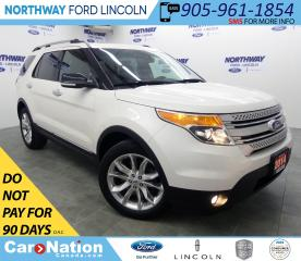 Used 2014 Ford Explorer XLT | AWD | NAV | HTD LEATHER | PANOROOF | for sale in Brantford, ON