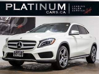 Used 2016 Mercedes-Benz GLA 250 4MATIC, AMG SPORT PKG, NAV, PANO, CAM, BLIND GLA250 for sale in Toronto, ON