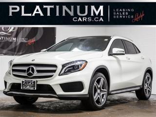Used 2016 Mercedes-Benz GLA 250 4MATIC, AMG SPORT PKG, NAV, PANO, CAM, BLIND GLA250 for sale in Toronto, ON