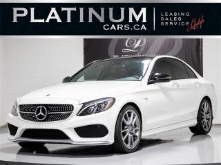 Used 2018 Mercedes-Benz C43 AMG, 362HP AWD, PREM., Blind SPT, Pano for sale in Toronto, ON