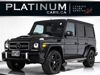 Used 2013 Mercedes-Benz G-Class G63 AMG, 536HP, NAV, CAM, BLINDSPOT, DESIGNO for sale in Toronto, ON