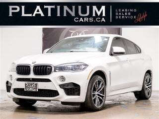 Used 2015 BMW X6 M 567HP, NAV, HUD, 360 CAM, Executive PKG, Rear TV X6 M for sale in Toronto, ON
