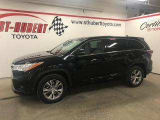 Used 2015 Toyota Highlander Le, Awd for sale in St-Hubert, QC