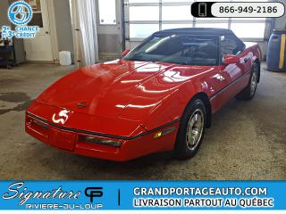 Used 1987 Chevrolet Corvette for sale in Rivière-Du-Loup, QC