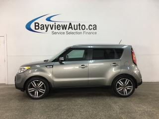 Used 2015 Kia Soul SX - AUTO! HTD LEATHER! BIG WHEELS! for sale in Belleville, ON