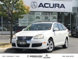 Used 2009 Volkswagen Jetta Wagon TDI Highline at Tip Pano Roof, Leather, Bluetooth for sale in Markham, ON