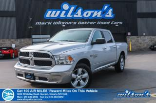Used 2019 RAM 1500 Classic SLT- 4x4, Backup Camera, Bluetooth, Keyless Entry, Cruise Control, Alloys and more! for sale in Guelph, ON