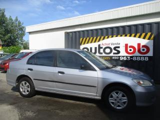 Used 2005 Honda Civic for sale in Laval, QC