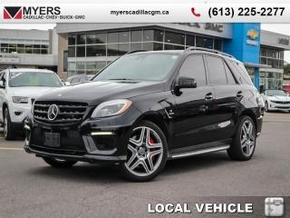 Used 2015 MERCEDES BENZ M-Class 4DR ML63 AMG ML 6  V8 4MATIC, PREMIUM AMG, SUNROOF, LEATHER, NAVI, AIR SUS for sale in Ottawa, ON