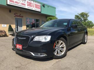 Used 2015 Chrysler 300 Touring $67.27 WEEKLY! $0 DOWN! CERTIFIED! for sale in Bolton, ON
