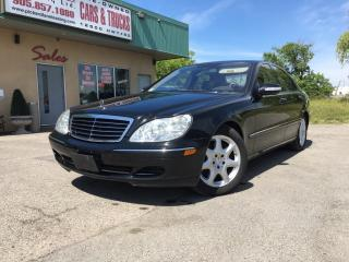 Used 2006 Mercedes-Benz S-Class LWB AS-IS for sale in Bolton, ON