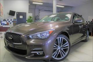 Used 2015 Infiniti Q50 Sport FULLY LOADED !!! CERTIFIED for sale in Bolton, ON