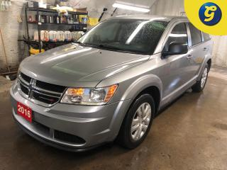 Used 2016 Dodge Journey 7 Passenger * Hands-free communication with Bluetooth streaming * U connect touchscreen * Phone connect * Voice recognition * Push Button Ignition * W for sale in Cambridge, ON