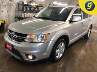 Used 2012 Dodge Journey SXT * Remote start * Push button ignition * Roof rails * Keyless/Passive entry * Phone connect * Voice recognition * Dual Climate control * Heated mir for sale in Cambridge, ON
