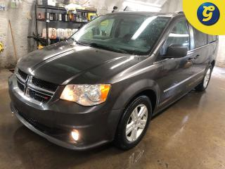 Used 2017 Dodge Grand Caravan Crew Plus * Leather interior * Power sliding doors * Power lift gate *  Phone connect * power mid row/rear/vents * Stow N Go seating with 4 captain ch for sale in Cambridge, ON