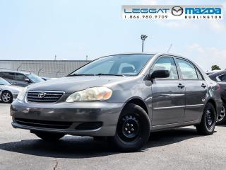 Used 2007 Toyota Corolla CE for sale in Burlington, ON