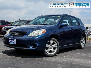 Used 2007 Toyota Matrix BASE for sale in Burlington, ON