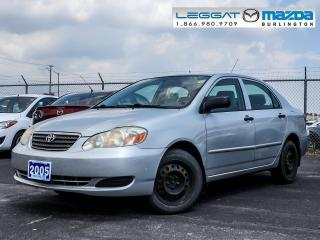 Used 2005 Toyota Corolla CE for sale in Burlington, ON