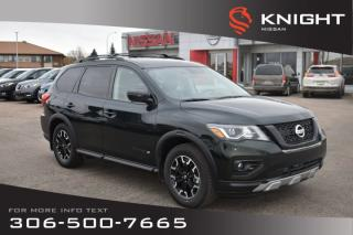 Used 2019 Nissan Pathfinder SL Rock Creek | Premium Pkg | Leather | Navigation |  Remote Start | Heated Seats & Steering Wheel | for sale in Swift Current, SK
