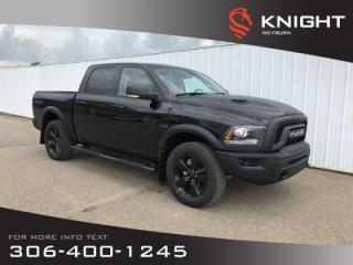 New 2019 RAM 1500 Classic Warlock | Backup Camera | Bluetooth | Heated Seats & Steering Wheel for sale in Weyburn, SK