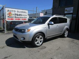 Used 2009 Mitsubishi Outlander AWD XLS 7 PASSAGERS V6 Cuir,Mags Toit Ou for sale in Montréal, QC