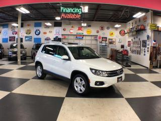 Used 2016 Volkswagen Tiguan 2.0TSI COMFORTLINE SPORT AWD LEATHER PANO/ROOF 102K for sale in North York, ON