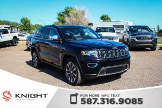Used 2018 Jeep Grand Cherokee Limited - Remote Start, NAV, Leather for sale in Medicine Hat, AB