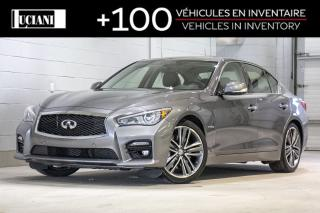Used 2015 Infiniti Q50 2015 Infiniti Q50 ! AWD!SPORT ,TECH , HYBRIDE !! for sale in Montréal, QC