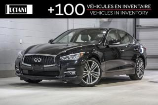 Used 2015 Infiniti Q50 2015 Infiniti Q50 ! Sport AWD!!kGPS, BOSE, CUIR ! for sale in Montréal, QC